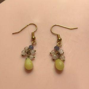 Anthropologie Earrings w/ Stones